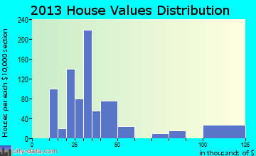 Indian Hills home values distribution
