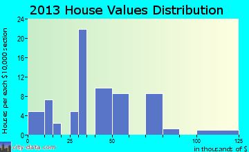 Brayton home values distribution
