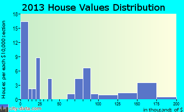 Salt Lick home values distribution