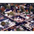 Centerville: Another aerial picture of the center of Centerville, Ohio (Intersection of Franklin and Mail Streets)