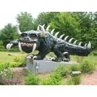 The Hodag at the Rhinelander Chamber of Commerce (Mascot of Rhinelander)
