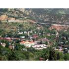 Manitou Springs as seen from Paul Intemann Nature Trail