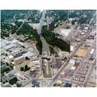 Lockport: aerial view