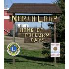 North Loup: North Loup Entery sign