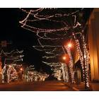 Seymour: Downtown City Lights during christmas season