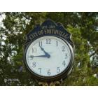 Smithville: Clock next to the Gazeebo in Smithville!