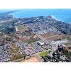 Goleta: Goleta, CA : Goleta from Airplane (fixed in Photoshop)