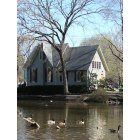 Yardley: The Old Library by Lake Afton