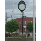 Ardmore: Clock at the train station