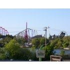 Vallejo: A view of Six Flags Discovery Kingdom aka 