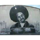 Vallejo: A Mural of Bay Area legend, Mac Dre, on a Vallejo water tank