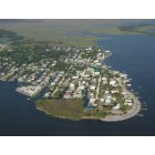 Horseshoe Beach: Ariel View of Horseshoe Beach, Florida