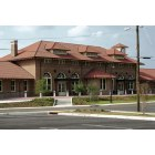 Hattiesburg: Hattiesburg Railroad Depot (view from east)