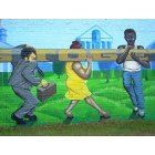 Hattiesburg: Downtown Mural(b)
