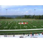 Morgantown: View of the University High School football field