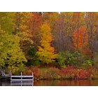 Kiel: Fall Color on the Sheboygan RIver, Kiel