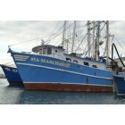 Freeport: Fishing boat on the Nautical Mile