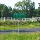 Scottsville: Scottsville City Limit