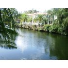 Coral Gables: One of Coral Gables' waterway scenes off Granada Boulevard