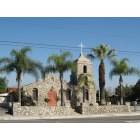 Irwindale: Original Our Lady of Guadalupe Church on Arrow Hwy.