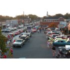 Oakboro: If the weather is pretty, 350-500 cars will show up for the Oakboro Cruise-In & Burnout.