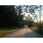 Starksboro: Big Hollow road, past Shaker hill. Sunset.