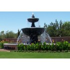 Sun City West: The fountain at the entrace to Corte Bella, SCW, AZ
