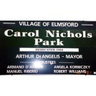 Elmsford: Park Sign