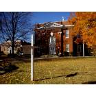 Warrenton: Court House in Fall