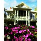Brooksville: Maillis House with azeleas in bloom