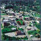 Burnsville: aerial photo of town