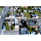Long Branch: ariel view of lower broadway
