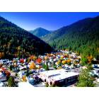 This is Wallace, Idaho looking South taken Oct of 2004
