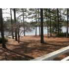 Whispering Pines: From friends deck, on small lake in Whispering Pines. 2005