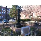 Turners Falls: The spinner statue