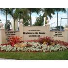 Hialeah Gardens: Hialeah Gardens Monument to Brothers to the Rescue in front of City Hall