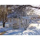 Gurnee: Kensington Gazebo in Winter