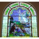 Leavenworth: St. Paul Lutheran Church (Leavenworht) stained glass window