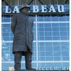 Green Bay: lombardi statue in front of packer stadium, green bay, wisconsin