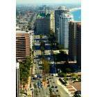 Long Beach: Ocean Blvd, shot from Wells Fargo Building terrace