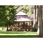 Foresthill: gazebo in foresthill Park