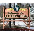 Petersburg: City Sign