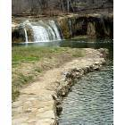 Tonkawa Falls and Swimming Area