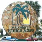 Lehigh Acres: Lehigh Acres Welcome Sign