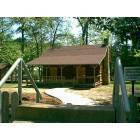 Urania: Cabin at the Potty Tannehill Memorial Park In Urania Louisiana