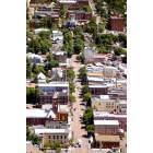 sky view of main st. bloomsburg