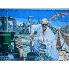 Dothan: Mural of George Washington Carver on a downtown Dothan, AL building