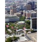 San Antonio: A view of the city from Hemisfair Tower