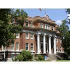 The Freestone County Courthouse was built in 1919 in the Clasical Revival style