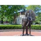Carthage: Joseph Smith and his Brother Hyrum Statue
